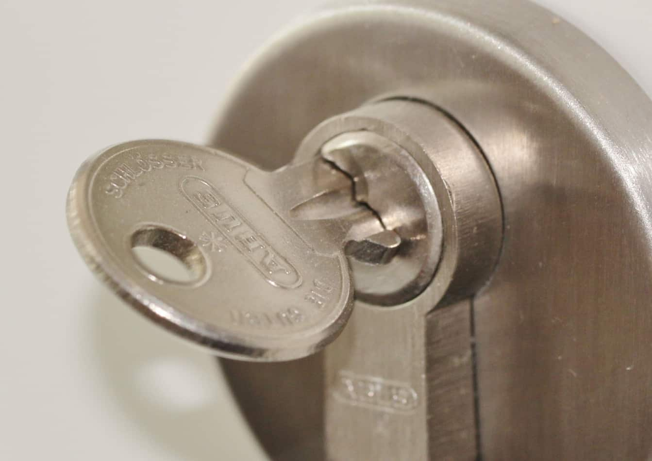 The DIY Help Desk Lock and key