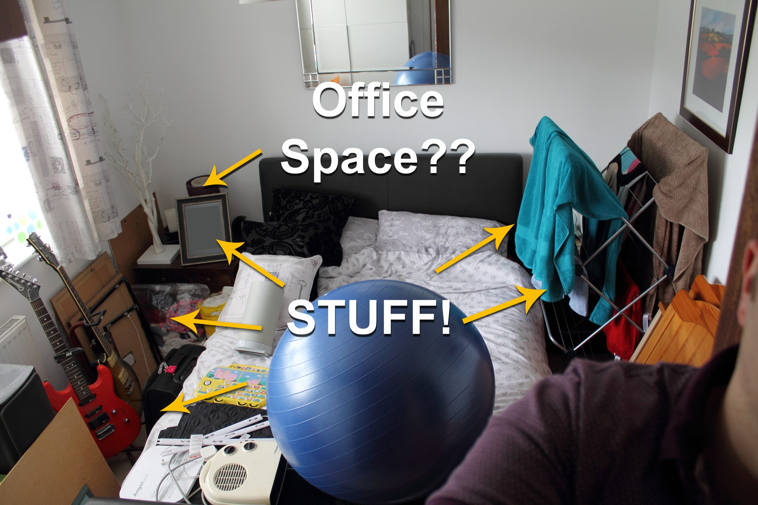 DIY Home Office and workspace