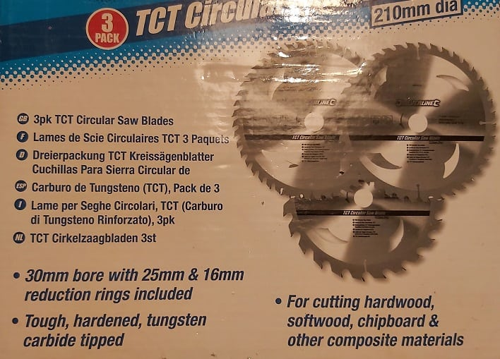 Saw Blade Packet